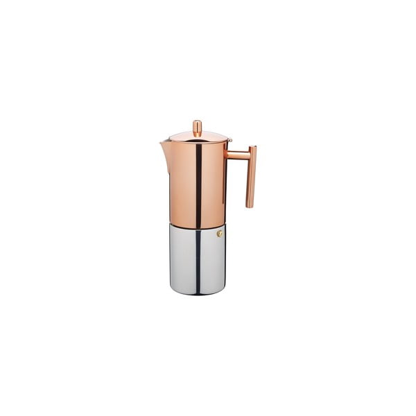 Moka konvička Le'Xpress Copper 600 ml, na 10 šálků