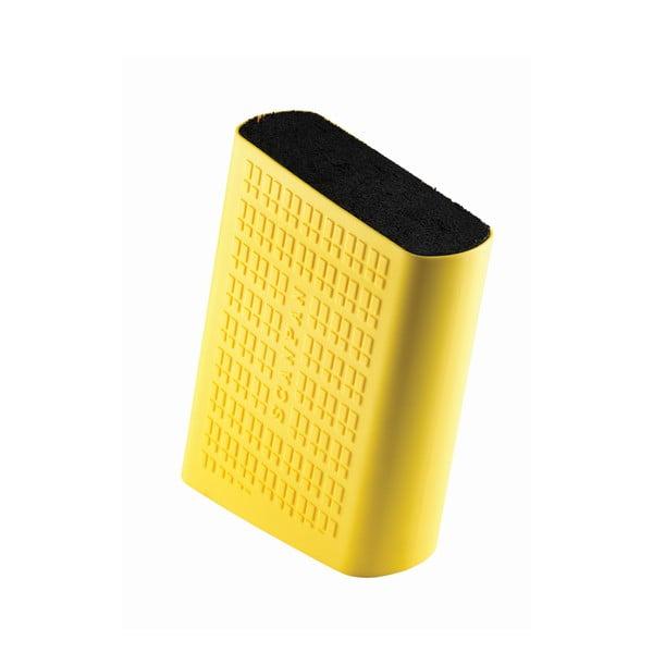 Blok na nože, žlutý