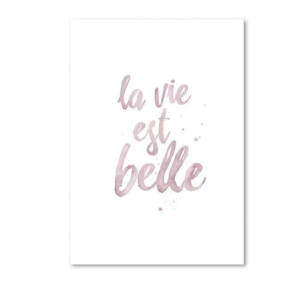 Plakát Leo La Douce La Vie Est Belle, 29,7x42cm