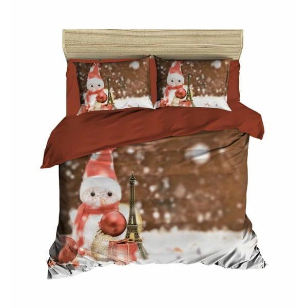 David karácsonyi, kétszemélyes ágyneműhuzat lepedővel, 200 x 220 cm