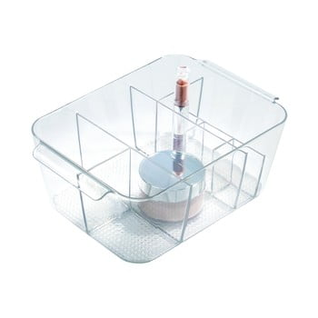 Organizator transparent iDesign Divided, 26 x 18 cm imagine