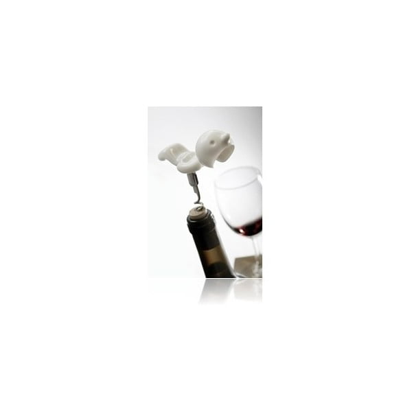 Vývrtka na víno Mr. P, bílá