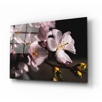 Tablou din sticlă Insigne Flowers II. poza