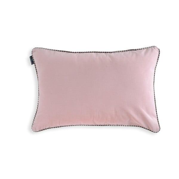 Ružová obliečka na vankúš WeLoveBeds Rose Quarz, 40 × 60 cm