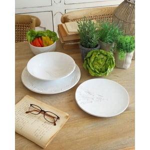 12dílná sada keramického nádobí Orchidea Milano Coastal