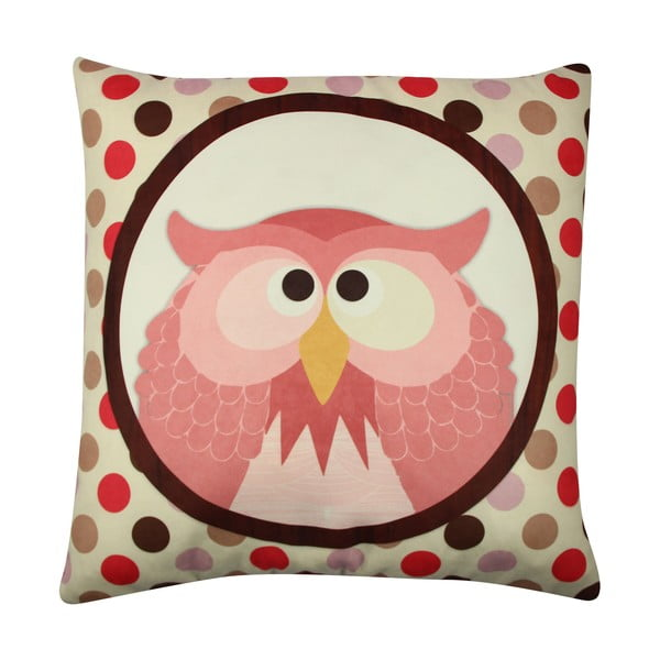 Polštář Owl No. 3, 43x43 cm