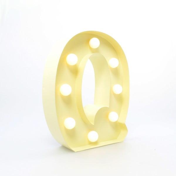 Dekorativní světlo Carnival Q, vanilkové