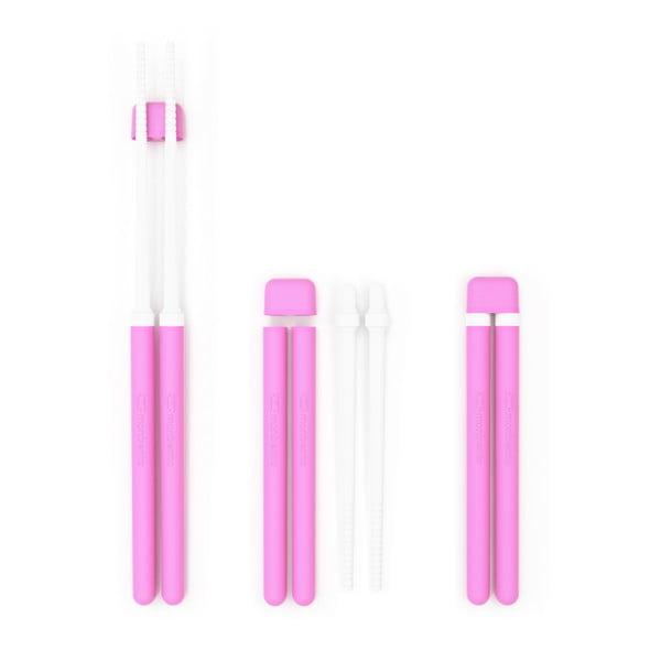 Růžové jídelní hůlky Monbento