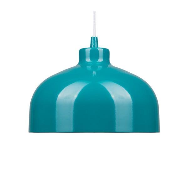 Tyrkysové stropní světlo Loft You B&B, 33 cm