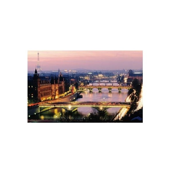 Fotoobraz Paříž za úsvitu