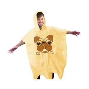 Žlutá pláštěnka Gift Republic Pug