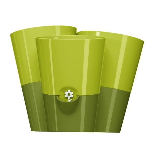 Květináč Fresh Herbs Trio Green