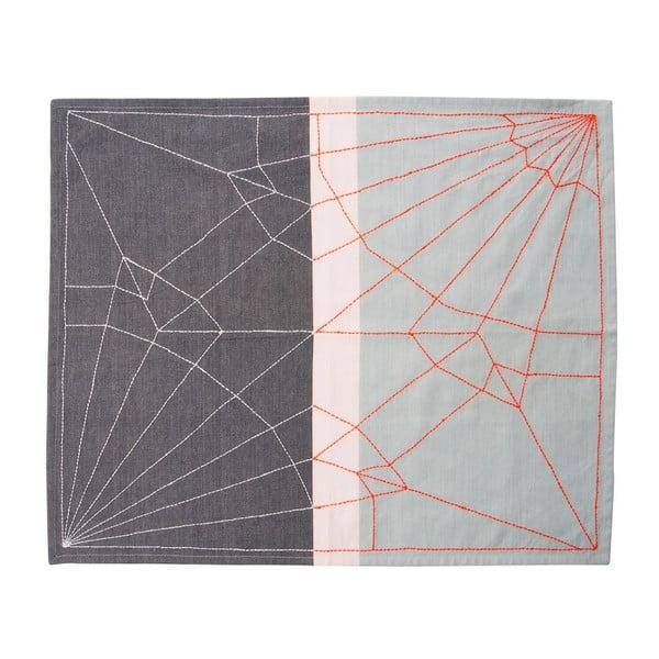 Kuchyňská utěrka Crane Neon Orange, 55x65 cm