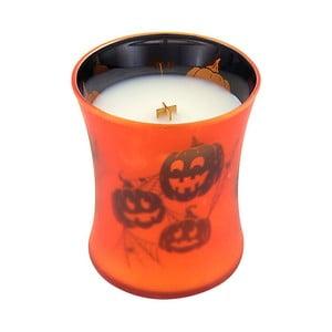 Svíčka s vůní dýně a hřejivého koření WoodWick Picture Máslová dýně, dobahoření60hodin