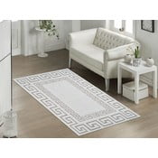 Odolný bavlněný koberec v béžové barvě Vitaus Versace, 80x150cm