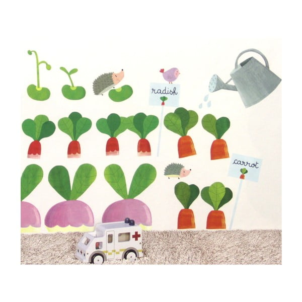 Samolepka na zeď Zahrada