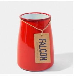 Červená smaltovaná nádoba na kuchyňské nástroje Falcon Enamelware