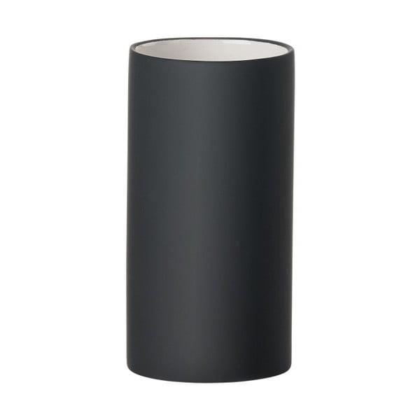 Solo fekete fogkefetartó pohár - Zone