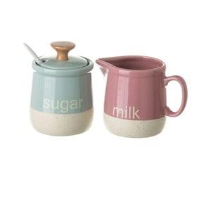 Barevná cukřenka a džbánek na mléko Unimasa