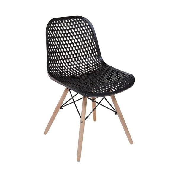 Černá židle Santiago Pons Volga