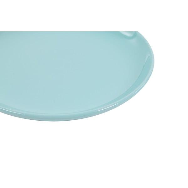 Sada 6 dezertních talířů Kaleidos 21 cm, světle modrá