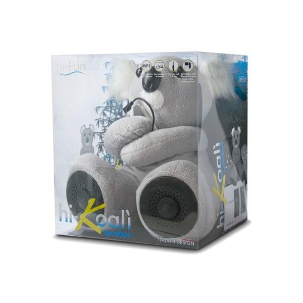 Koala hi-Koali s vestavěným reproduktorem, šedá