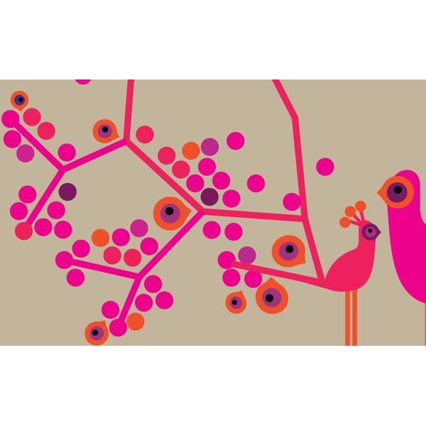 Obrazová tapeta  My little princess 270x186 cm, světle růžová