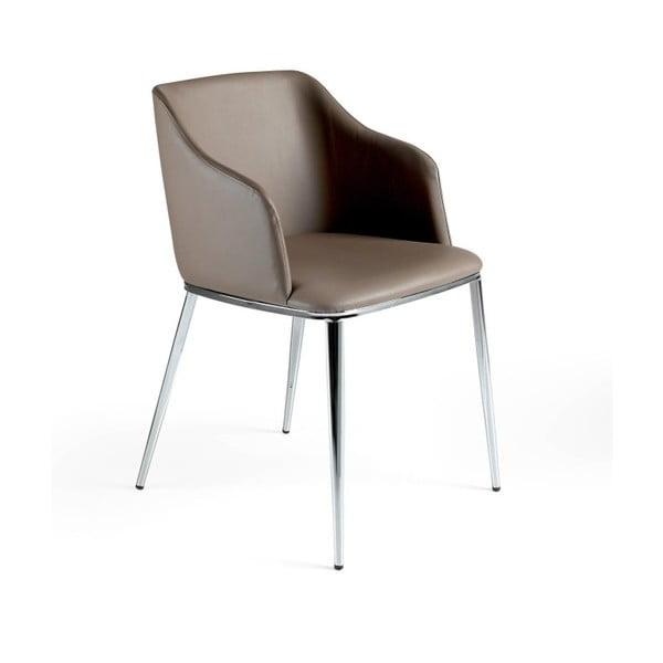 Szare krzesło Ángel Cerdá Dulce