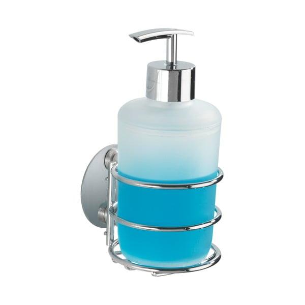 Dozator autoadeziv pentru săpun lichid Wenko Turbo-Loc, maxim la 40 kg