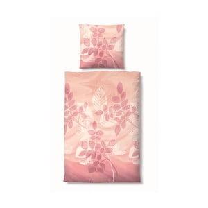 Povlečení Edelflanell Nature Pink, 135x200 cm