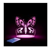 Dětské LED noční světýlko Aloka Butterfly