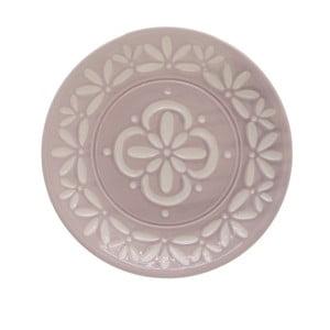 Farfurie din ceramică InArt Amaia, roz