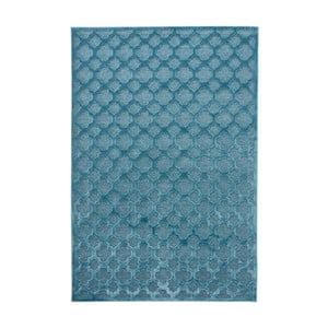Modrý koberec Mint Rugs Shine Mero, 80 x 125 cm