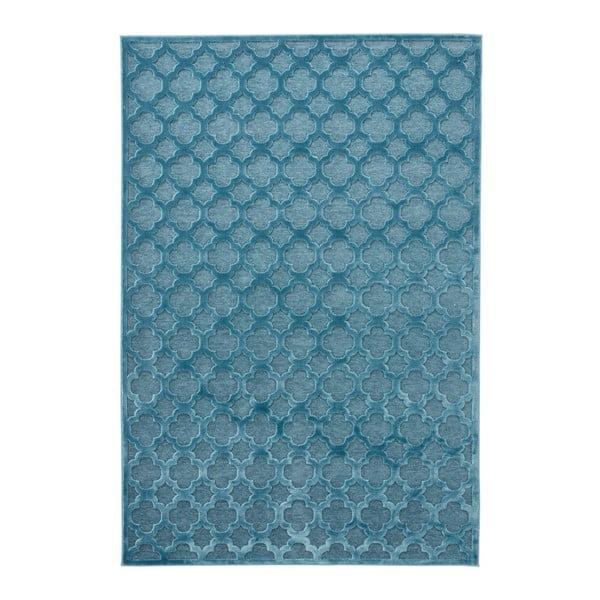 Modrý koberec Mint Rugs Shine Mero, 200 × 300 cm