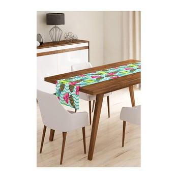 Napron din microfibră pentru masă Minimalist Cushion Covers Melon and Pineapple, 45x145cm de la Minimalist Cushion Covers