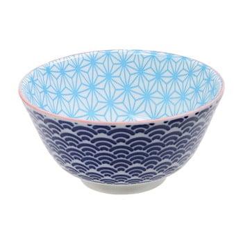 Bol de porțelan Tokyo Design Studio Star, ⌀ 12 cm, albastru de la Tokyo Design Studio