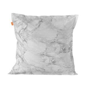 Bavlněný povlak na polštář Blanc Essence Marble Gray, 60 x 60 cm