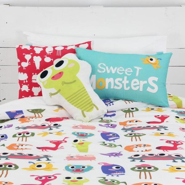 Polštářek Sweet Monsters 40x30 cm z kavárny U Kubistů