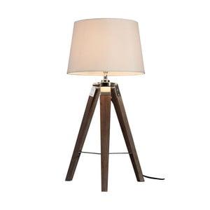 Hnědá stolní lampa Premier Housewares Bailey
