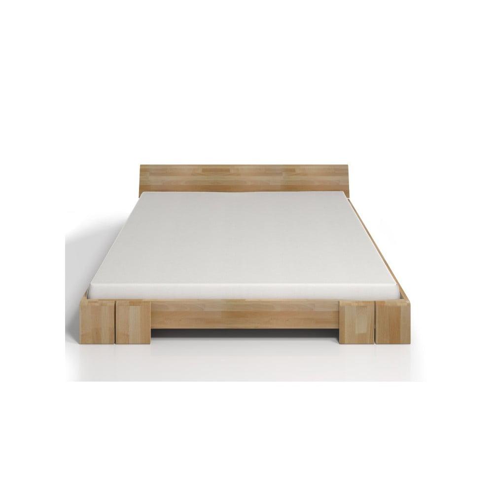 Dvoulůžková postel z bukového dřeva SKANDICA Vestre, 200x200cm