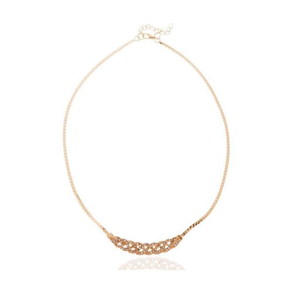Dámský náhrdelník ve zlaté barvě NOMA Eustacia