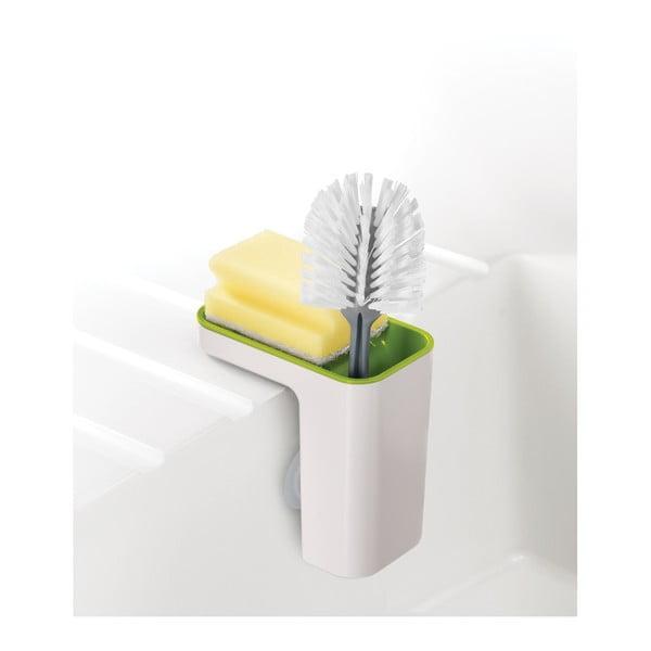 Recipient pentru detergenţi de vase Joseph Joseph Caddy SinkPod, alb - verde