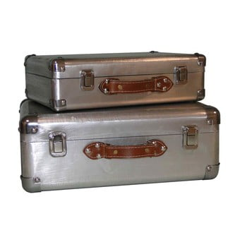 Set 2 valize Antic Line Silver