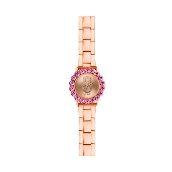 Dámské hodinky v barvě růžového zlata Manoush Aurora