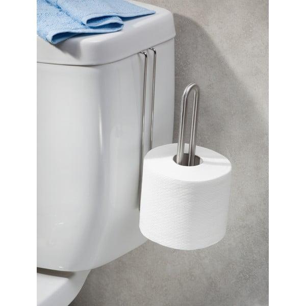 Suport suspendat din oțel inoxidabil pentru hârtia de toaletă iDesign Forma