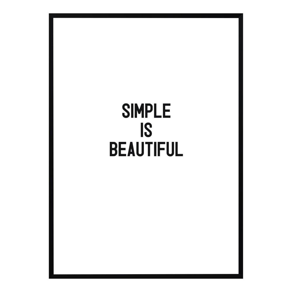 poster nord co simply beautiful 30 x 40 cm bonami