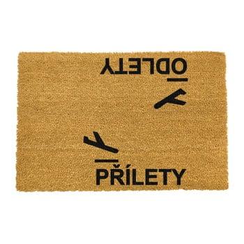 Covoraș intrare din fibre de cocos Artsy Doormats Prilety, 40 x 60 cm imagine