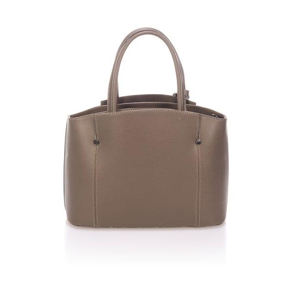Béžová kožená kabelka Giorgio Costa Brescia