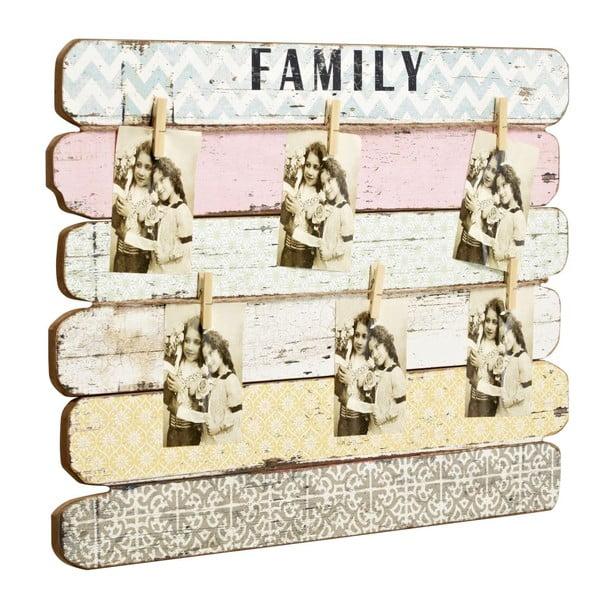 Tabule na fotografie Family, 55x71x4 cm