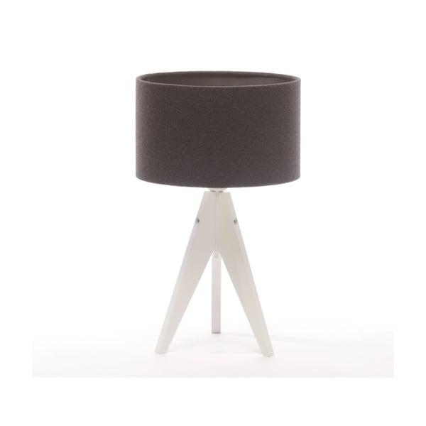 Stolní lampa Arist Cylinder Grey/White